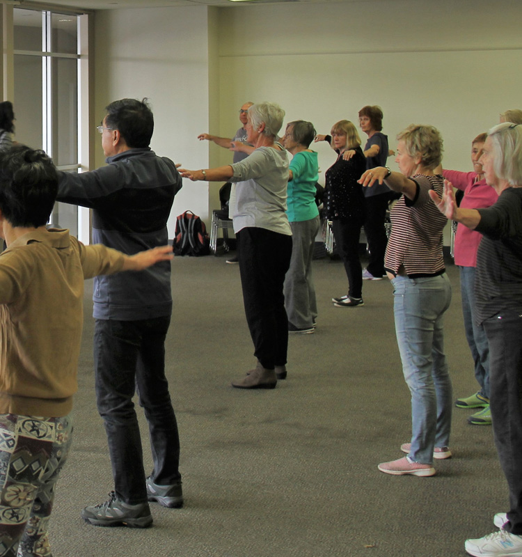 tai-chi community classes                   in the eastern suburbs